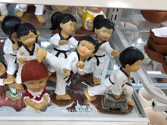 テコンドー人形