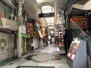 阪急東通の風景