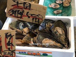 ナルミ杉本で売っている平貝の画像