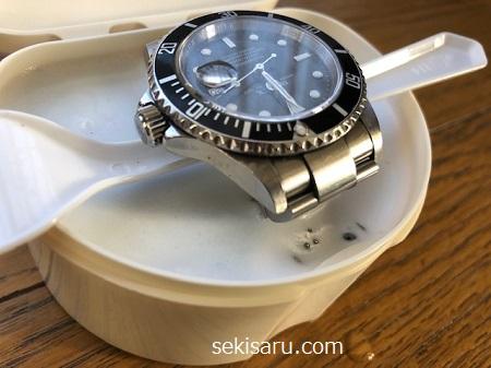 時計を洗浄