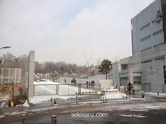 梨花女子大学校の正門
