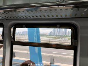 地下鉄4号線からの車窓